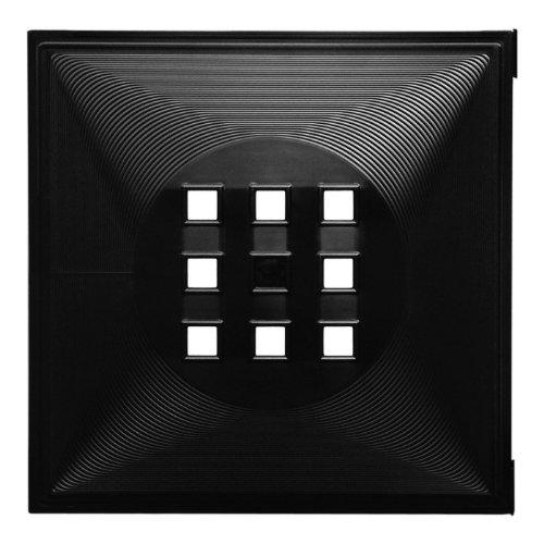 Designer-Regaltr-als-Fach-Einsatz-Regalsysteme-mit-Mass-ca-336cm-x-336cm-Tr-fr-Ikea-Regal-Expedit-Kallax-Norns-Wrfel-Flexi-XXXL-Lutz-Quelle-Raumteiler-Variation-in-Schwarz