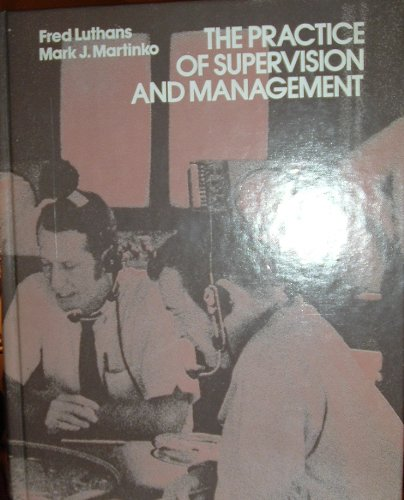 The practice of supervision and management