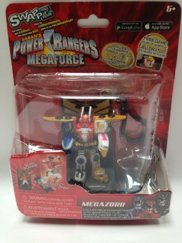 Swappz Power Rangers Mega Force Mega Zord