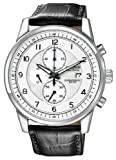 Citizen Mens CA0331-05A Eco-Drive Stainless Steel Chronograph Watch