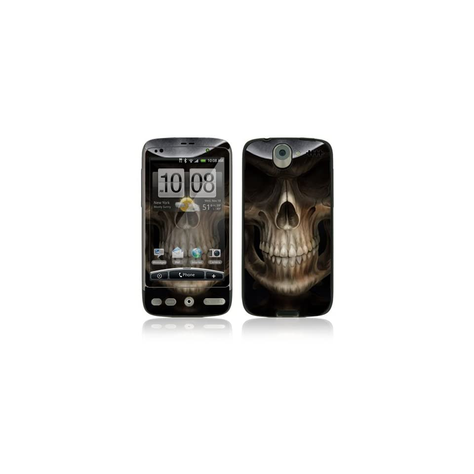 Skull Dark Lord Protective Skin Cover Decal Sticker for HTC Desire Cell Phone