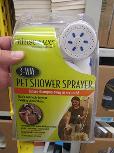 The Rinse Ace® Pet Shower Deluxe PLUS