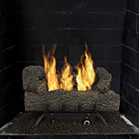 "Pleasant Hearth VFL-SO18DT 30,000 BTU's 18"" Southern Oak Vent Free Gas Log Set"
