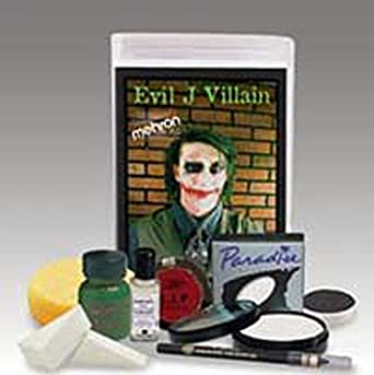 Joker Costume Make Up Kit Evil J. Villain Makeup Kit Professional Make Up Kit KMP-EJ