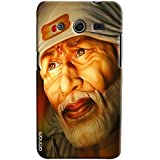 Omnam Devotional Sai Baba Face Printed Designer Back Cover Case For Samsung Galaxy Galaxy Core 2