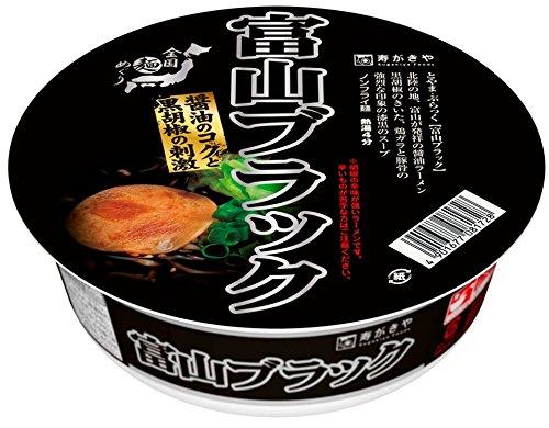 寿がきや 全国麺めぐり 富山ブラックラーメン 110g×12個
