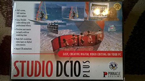 Pinnacle studio dc10 plus