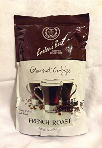 Boston'S Best Gourmet Coffee French Roast Ground Coffee Dark Roast
