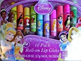 Disney Princess 10 Pack Roll-on Lip Gloss