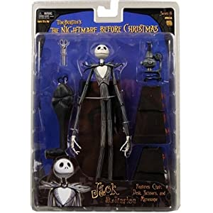 Nightmare Before Christmas : Series 6 Jack With Desk Action Figure ...