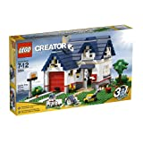 LEGO Creator Apple Tree House (5891) - 539 Piece set ~ LEGO Creator