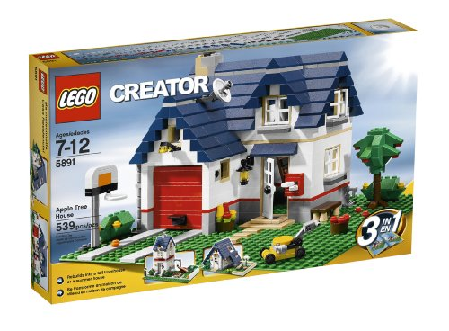 LEGO Creator Apple Tree House (5891) - 539 Piece set Amazon.com