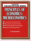 img - for Principles of Economics, Microeconomics (Harcourt Brace Jovanovich College Outline Series) book / textbook / text book