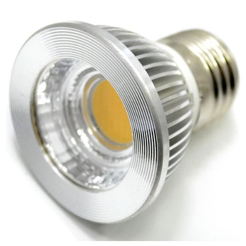 Zono® Ac 85-265V E27 5W Led Cob Lamp Cup Spot Light With Flat Glass Cover