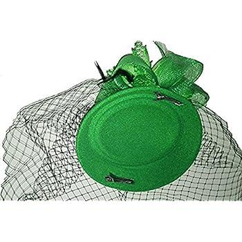 Fascinator Hair Clip Pillbox Hat Bowler Feather Flower Veil Wedding Party Hat