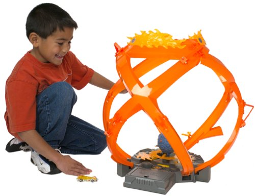 Picture of Mattel Hot Wheels Fireball Figure (B00005K3XX) (Mattel Action Figures)