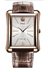 Piaget Emperador Mens Rose Gold Automatic Watch GOA32121