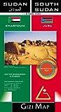 Soudan et le Soudan du Sud 1:2,500,000 Carte de voyages Gizi, édition 2011