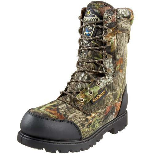 "LaCrosse Men's 10"" Brawny II 800g Thinsulate Hunting Boot,Mossy Oak Break Up,11 M US"