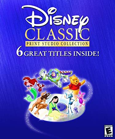 Disney's Classic Print Studio Collection