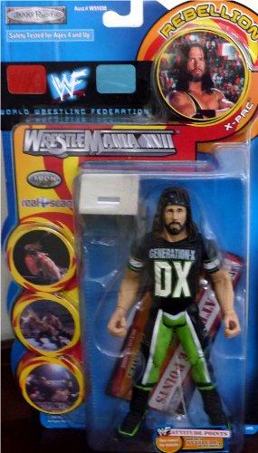 Buy Low Price Jakks Pacific X-PAC WWE WWF Wrestlemania XVII Rebellion Series 1 Figure (B004XIM21U)