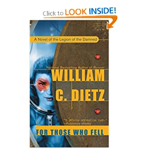For Those Who Fell (Legion) by William C. Dietz