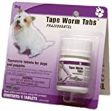 Tradewinds Tapeworm Tabs , 5-34mg Tabs