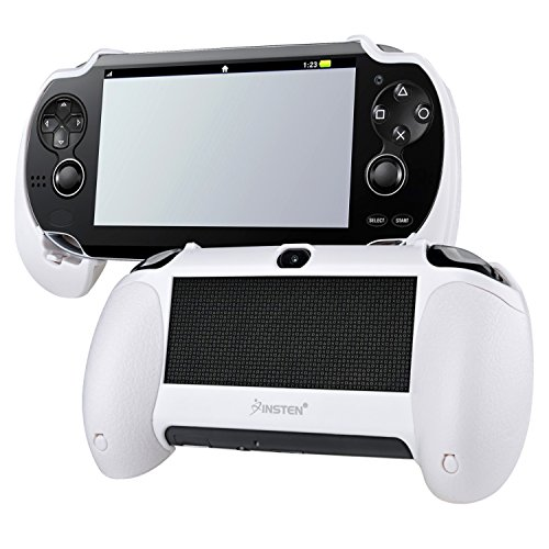 Insten White Hand Grip Compatible With Sony PlayStation Vita (White Psvita 2000 compare prices)