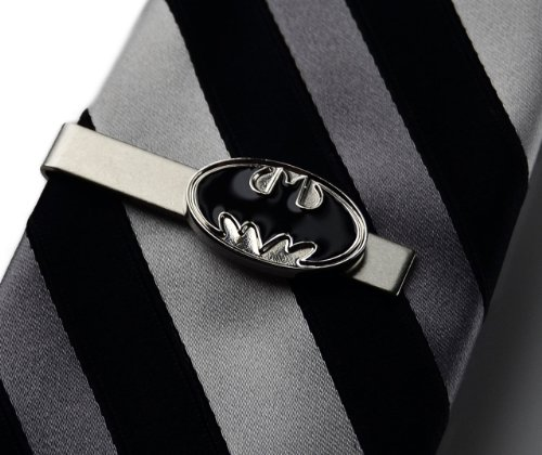 Batman Tie Clip, Wedding Favors, Father of the Bride Gift, Gift Box Included