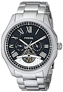 Fossil Men's ME3046 Analog Display Analog Quartz Silver Watch