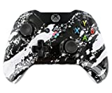 """Splash White Candy"" Xbox ONE Custom Modded Controller Exclusive Design - COD Ready Zombie Auto Aim, Drop Shot, Fast Reload, & Menu for Ghost !"