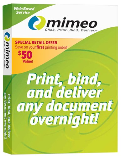 Mimeo On-Demand Printing e-Service Starter Kit