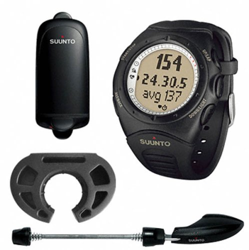 Suunto T6 Wrist-Top Computer and Foot/Bike Pod Duathlon Combo Pack