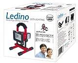 Ledino LED-Akkustrahler 10 W Li-Ionen Akku 5,2 Ah LED-FLA1005