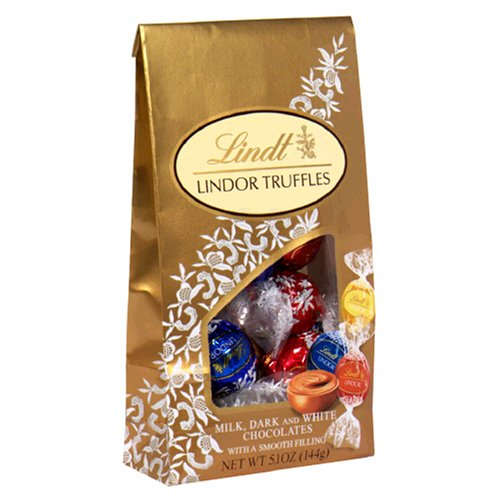Lindt Lindor Truffles Assorted Chocolates (Milk,