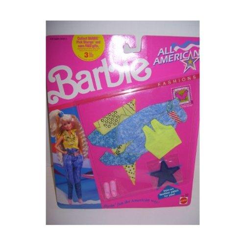 1990 Barbie Doll All American Fashion Set #9440 - 1