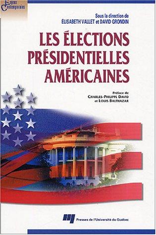Sale alerts for Presses de l'Université du Québec Elections présidentielles américaines - Covvet