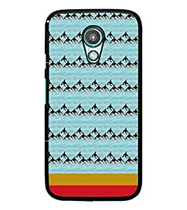 PrintDhaba Dolphin Pattern D-1870 Back Case Cover for MEIZU M1 NOTE (Multi-Coloured)