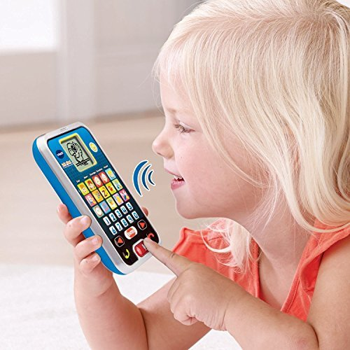 VTech Kids Smart Phone Call and Chat Learning Music Toys for Kids (Register My Fire Tablet compare prices)
