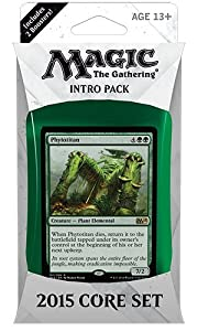 Magic the Gathering (MTG) 2015 Core Set / M15 Intro Pack / Theme Deck - Phytotitan (Green/White)(Includes 2 Booster Packs)