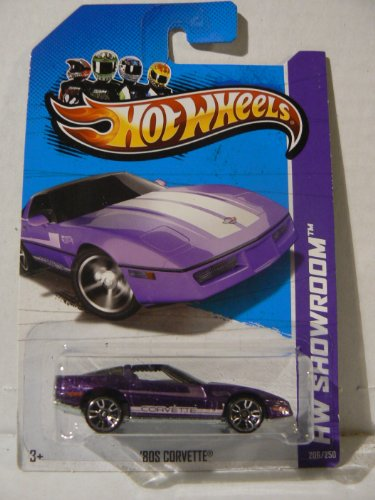 Hot Wheels HW Showroom '80s Corvette Purple - 1
