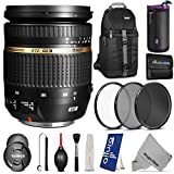 Tamron Auto Focus 17-50mm f 2.8 SP XR DI II VC Zoom Lens for CANON Digital SLR Cameras w Essential Photo and Travel Bundle