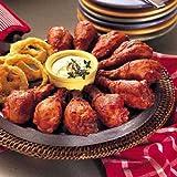Tyson Sluggers Hot BBQ Glazed Chicken Drumsticks, Regular, Fully Cooked, 10 Pound -- 1 each.
