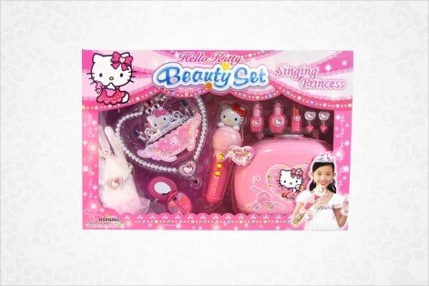 Hello Kitty Deluxe Beauty Set: Singing Princess