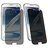 eForCity® Privacy Filter Screen Protector Compatible with Samsung©Galaxy Note II N7100