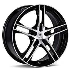 VERDE WHEELS PROTOCOL BLACK/MACHINE 5X4.5/5X4.25 +40 – 17X7