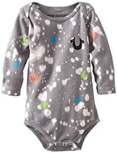 True Religion Unisex-baby Infant Splatter Paint Onsie from True Religion