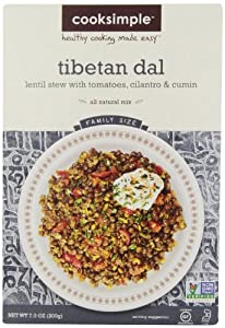 cookSimple, Tibetan Dal, 6.0  Ounce  (Pack of 4)