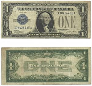 1928-A One Dollar Silver Certificate