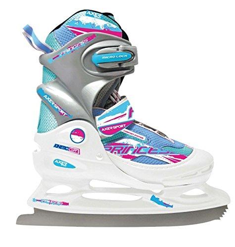 Kinder Schlittschuhe, größenverstellbar, Eiskunstlauf Schlittschuhe, für Mädchen PRINCESS Axer